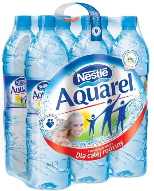 Butelki wody Nestle Aquarel
