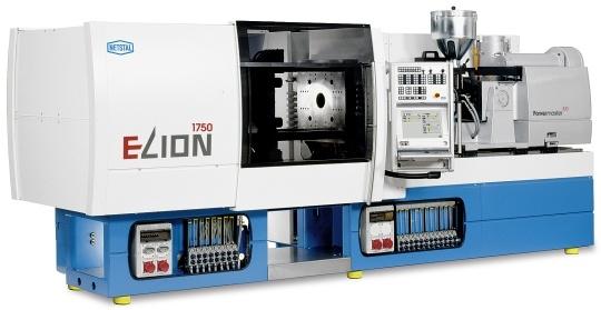 wtryskarka ELion 1750 firmy Netstal