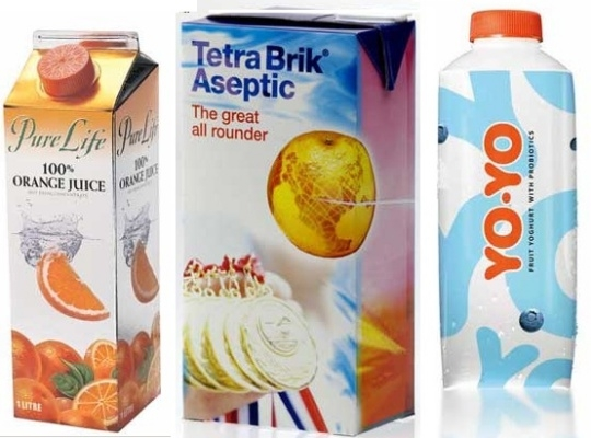Tetra Pak's packagings