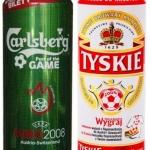 Euro opakowania - piwo w puszkach dla kibiców