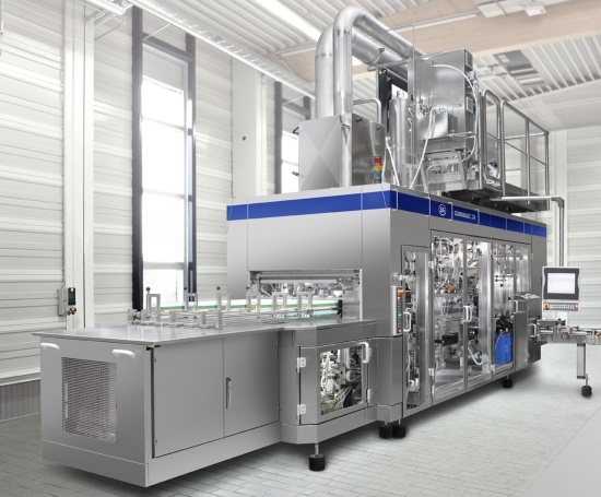 New SiG Combibloc's filling machine