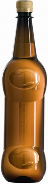 Asymmetric beer bottle