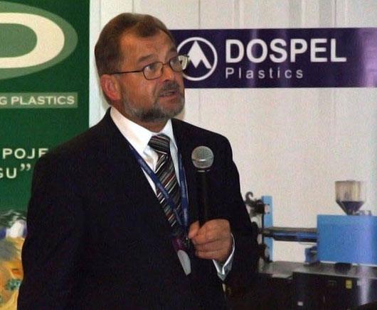 Jerzy Dądela, dyrektor Dospel Plastics