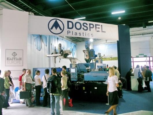 Stoisko firmy Dospel Plastics podczas targów Plastpol 2007
