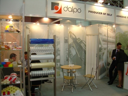 Firma Dalpo na targach interpack 2008