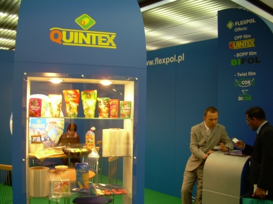 Firma Flexpol na targach interpack 2008