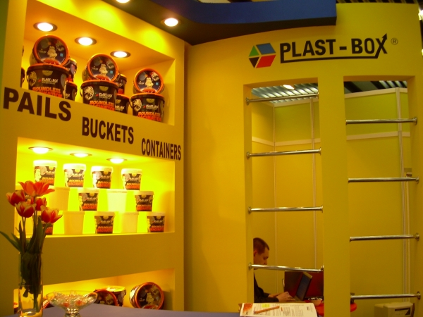 Firma Plast-Box na targach interpack 2008