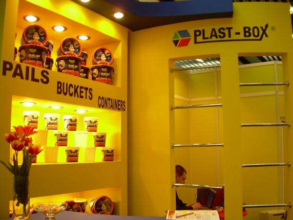 Firma Plast-Box na targach interpack 2008