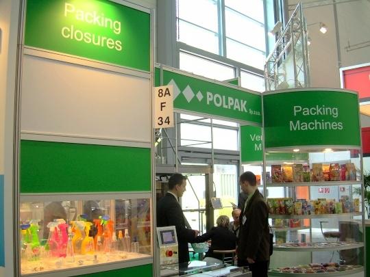 Firma Polpak na targach interpack 2008