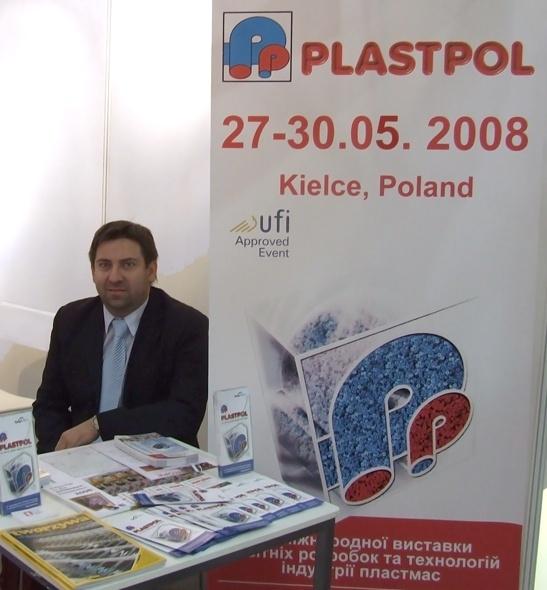 Kamil Perz, dyrektor targów Plastpol