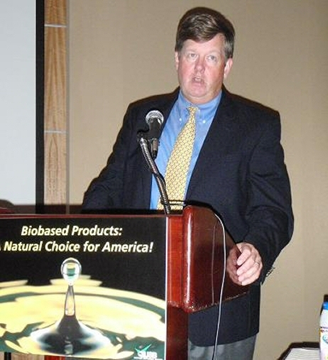 Steven Mojo, Executive Director of the Biodegradable Products Institute
