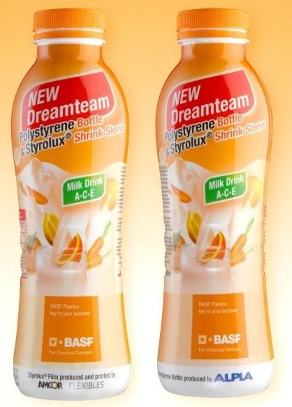 Butelka Dream Team firmy BASF