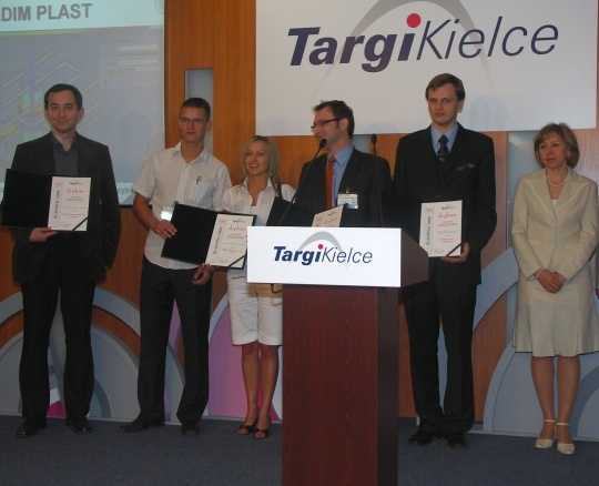 Plastech.pl nagrodzony na targach Plastpol 2008