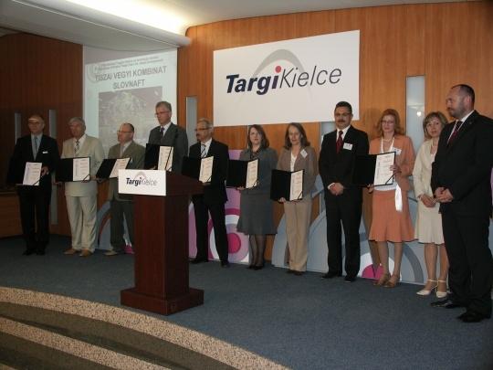 Nagrody na targach Plastpol 2008