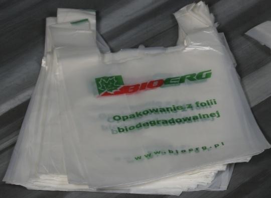 Reklamówki z kukurydzy wyróżnione na Plastpolu