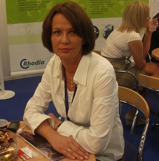 Jolanta Wojtal - Rak, Account Manager w firmie Rhodia Polyamide Poland