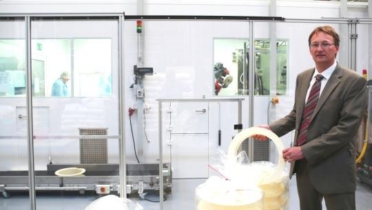 Haefner starts clean room production for B. Braun Melsungen AG