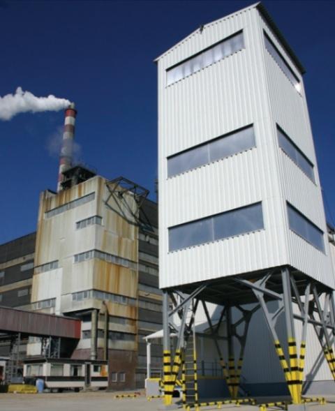 Instalacja do suszenia siarczanu żelaza II w Policach