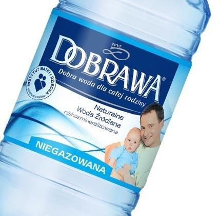 Nowe opakowanie dla wody Dobrawa