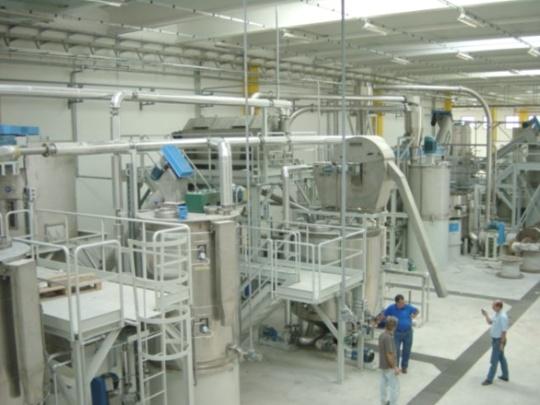 Proekologiczny zakład Sorema do recyklingu PET
