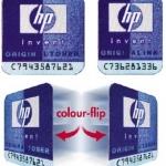 Zmieniające kolor etykiety HP