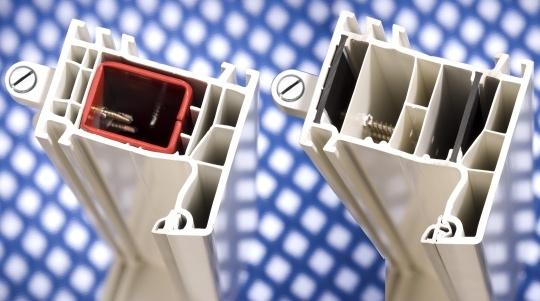 Profile okienne z ekologicznego tworzywa sztucznego Ultradur