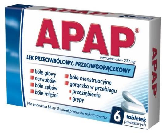 Opakowanie leku Apap