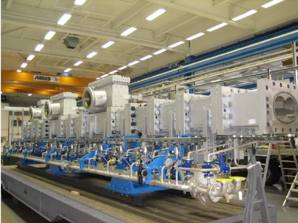 Coperion biggest compounding lines for POM