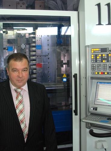 Janusz Rusocki, prezes firmy WIP