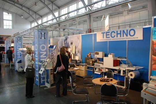 Firma Techno na targach Taropak 2008
