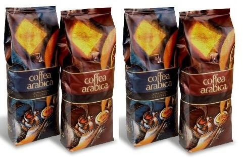 Opakowanie firmy Coffee Service dla kawy Ceffea Arabica