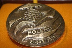 Medal targów Poleko dla firmy Gniotpol