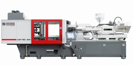 Nowa wtryskarka Ferromatik Milacron
