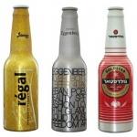 Aluminiowe butelki do piwa