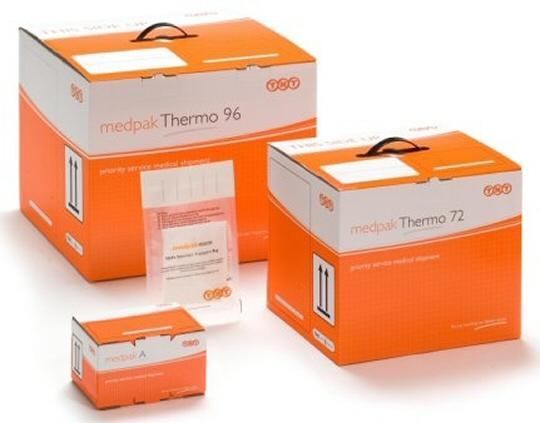 Opakowanie MedPak Thermo do transportu materiału biologicznego