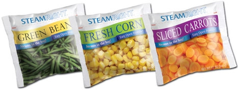 SteamRight Laser technology delivers innovation to steam-in-bag packaging.