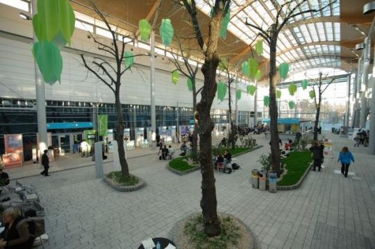 Pawilony w obiektach, w których odbywa się Szczyt Klimatyczny