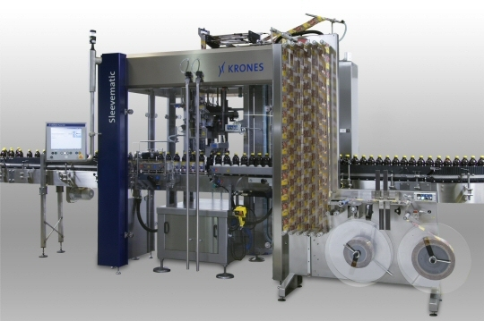 Modularised sleeve labeller: Krones Sleevematic M