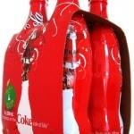 Coca Cola w opakowaniach na święta