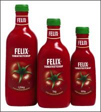 Butelki do keczupu Felix posiadają sześciowarstwową strukturę z warstwą EVOH