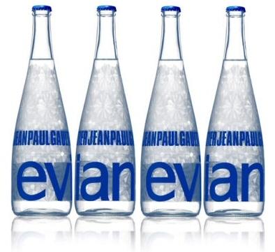 Nowa kolekcja opakowań luksusowej wody Evian
