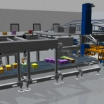 Krones develops an automatic order-picking system