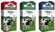 Opakowanie do mleka z nowym zamknięciem