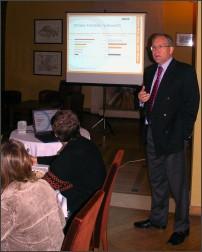 Mieczysław P. Sudnik, Dyrektor Generalny Amcor PET Packaging CEE prezentuje strategię rozwoju AMCOR PET Packaging na rynku Centralnej i Wschodniej Europy