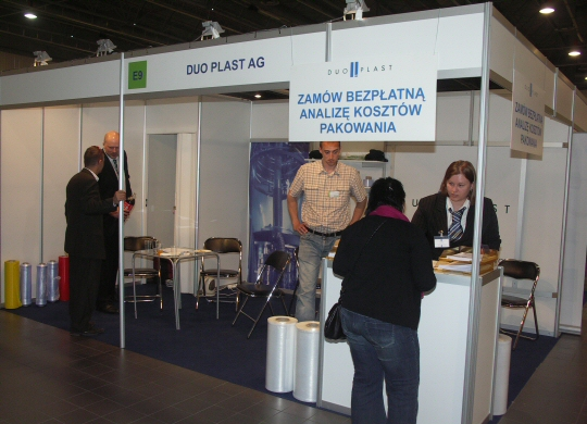 Firma Duo Plast na targach Packaging Innovations 2009