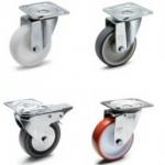 Firma Elesa+Ganter wprowadziła koła z tworzyw sztucznych