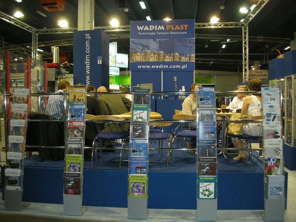 Firma Wadim Plast na targach Plastpol 2009
