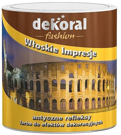 Opakowanie farb Dekoral Włoska Impresja. Producent RPC