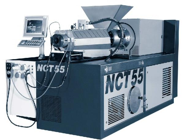Wytłaczarka dwuślimakowa NCT firmy MT Recykling
