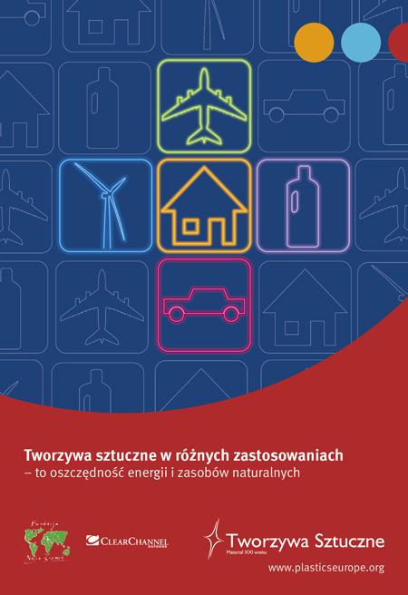 Plakat reklamowy kampanii Plastics Europe Polska